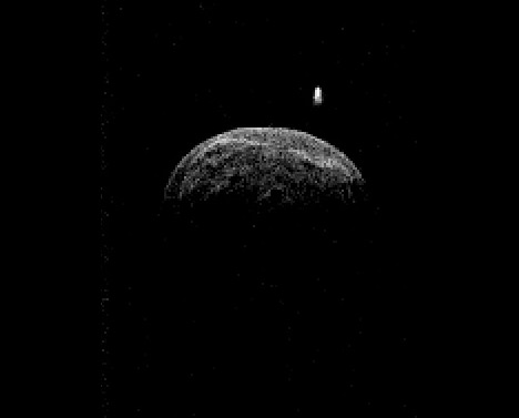 Radar image of asteroid 2004 BL86