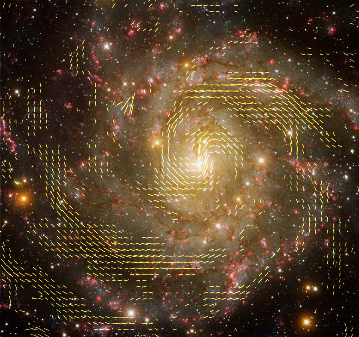 Magnetic-Field Discovery Gives Clues to Galaxy Formation Processes - National Radio Astronomy Observatory