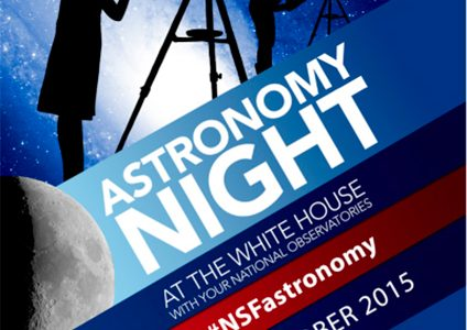 Poster for White House Astronomy Night