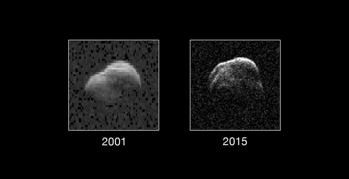 Radar images of asteroid 1998 WT24