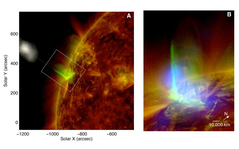 The solar flare of 3 March 2012