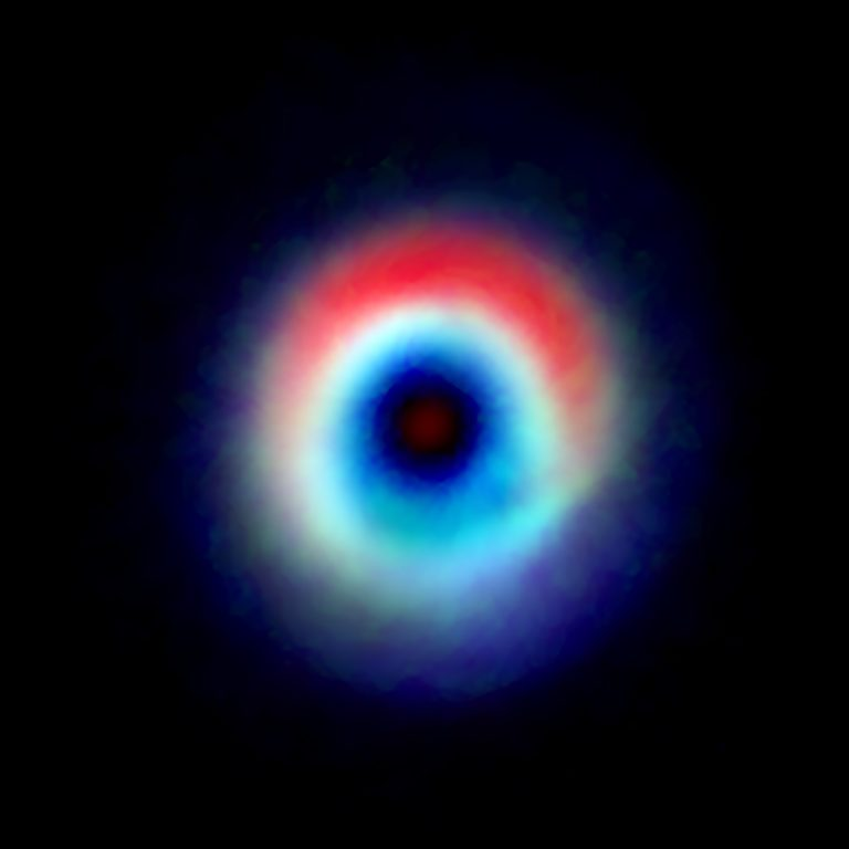 A composite image of the HD 142527
