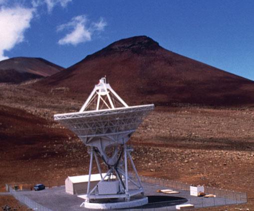 VLBA station on Mauna Kea, Hawai'i.