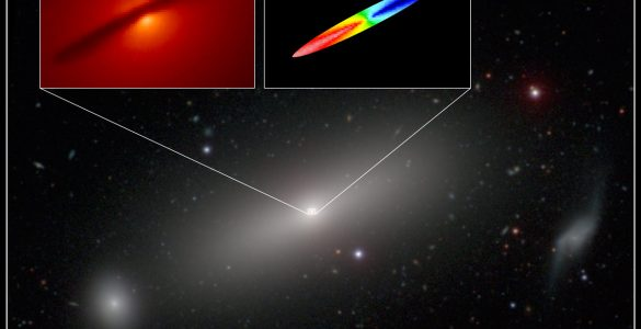 ALMA Measures Mass of Black Hole with Extreme Precision