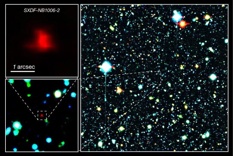 Distant galaxy SXDF-NB1006-2