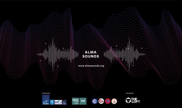 ALMA Sounds Logo