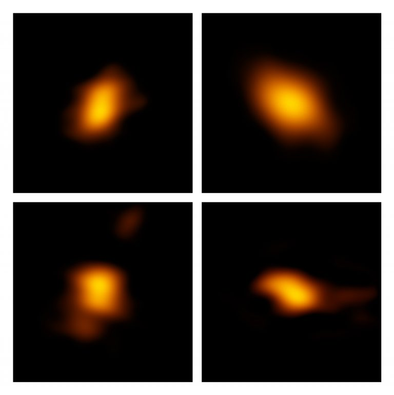 Four debris disks observed by ALMA in the Scorpius-Centaurus Association.