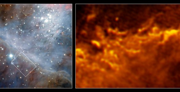 Image Highlight: ALMA Explores Orion's Turbulent Border