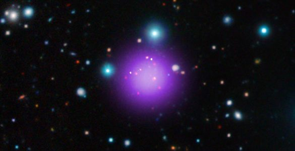 Record-breaking Galaxy Cluster Discovered
