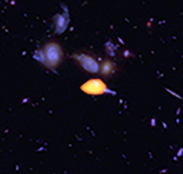 ALMA image of the Hubble Ultra Deep Field