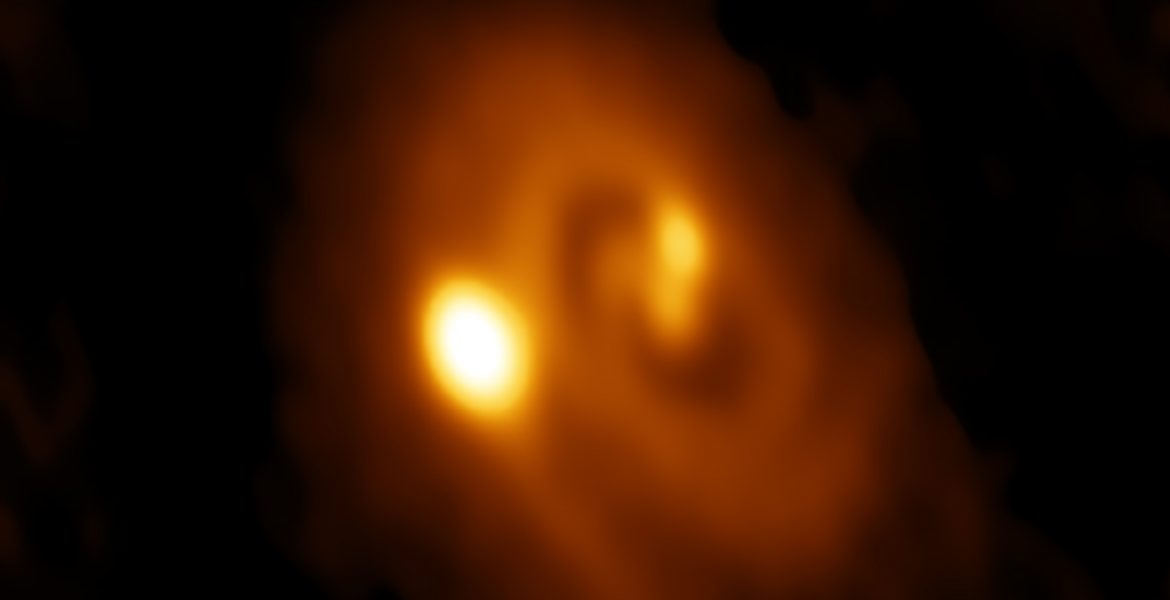 ALMA image of the L1448 IRS3B system