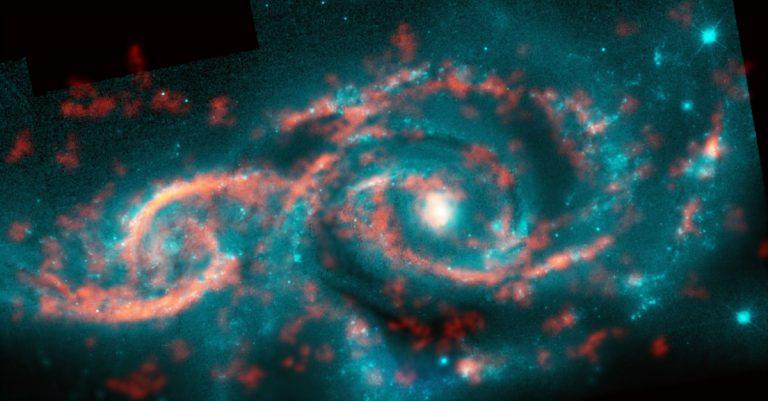 IC 2163 and NGC 2207