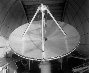 The 36-foot, later rededicated as the 12-meter, was the world's premiere molecule-hunting instrument.