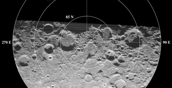 North Pole of the Moon