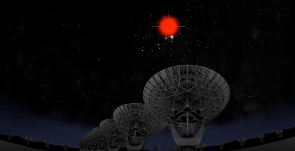 Fast Radio Burst tracked down by VLA