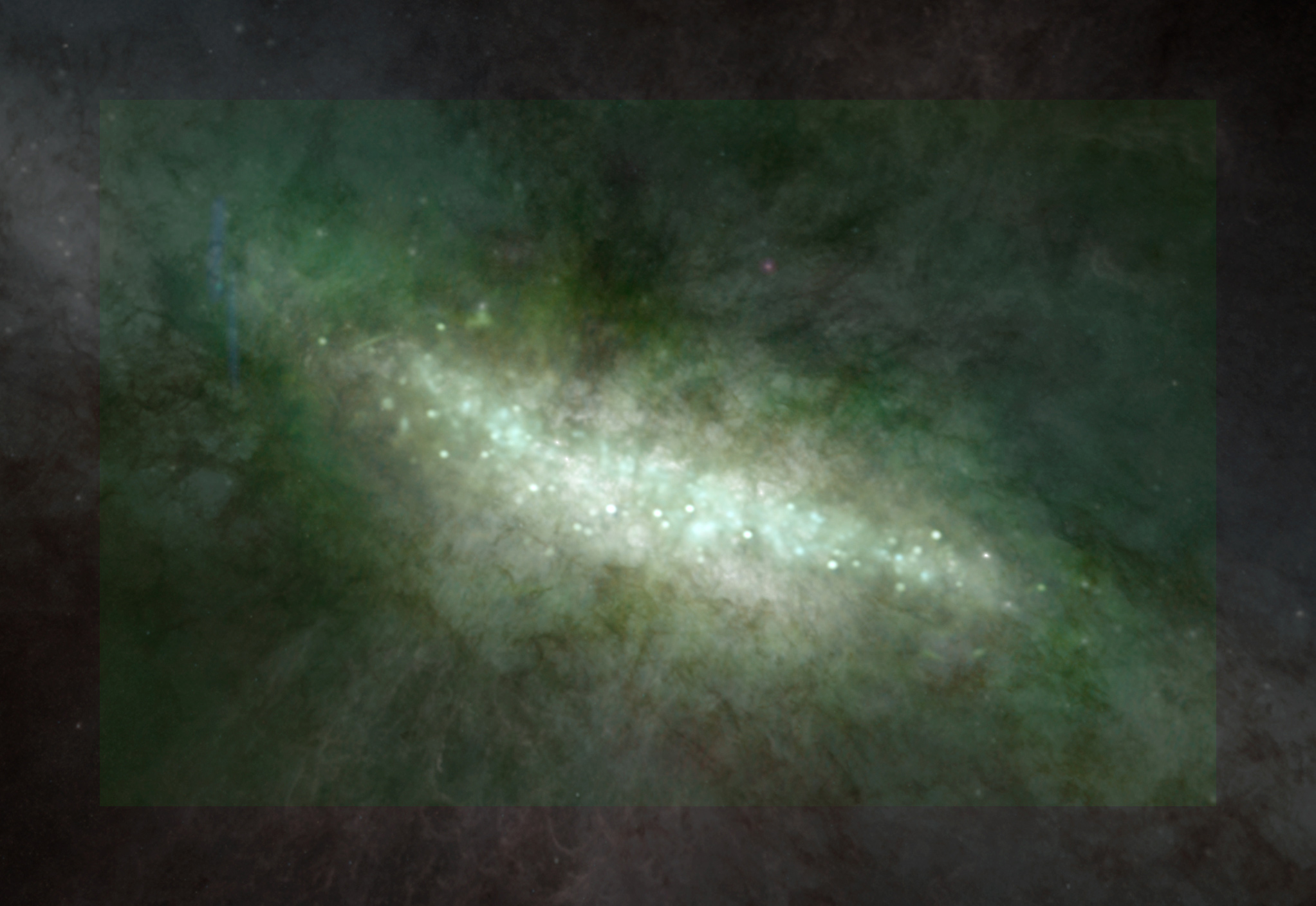 Starbursting M82