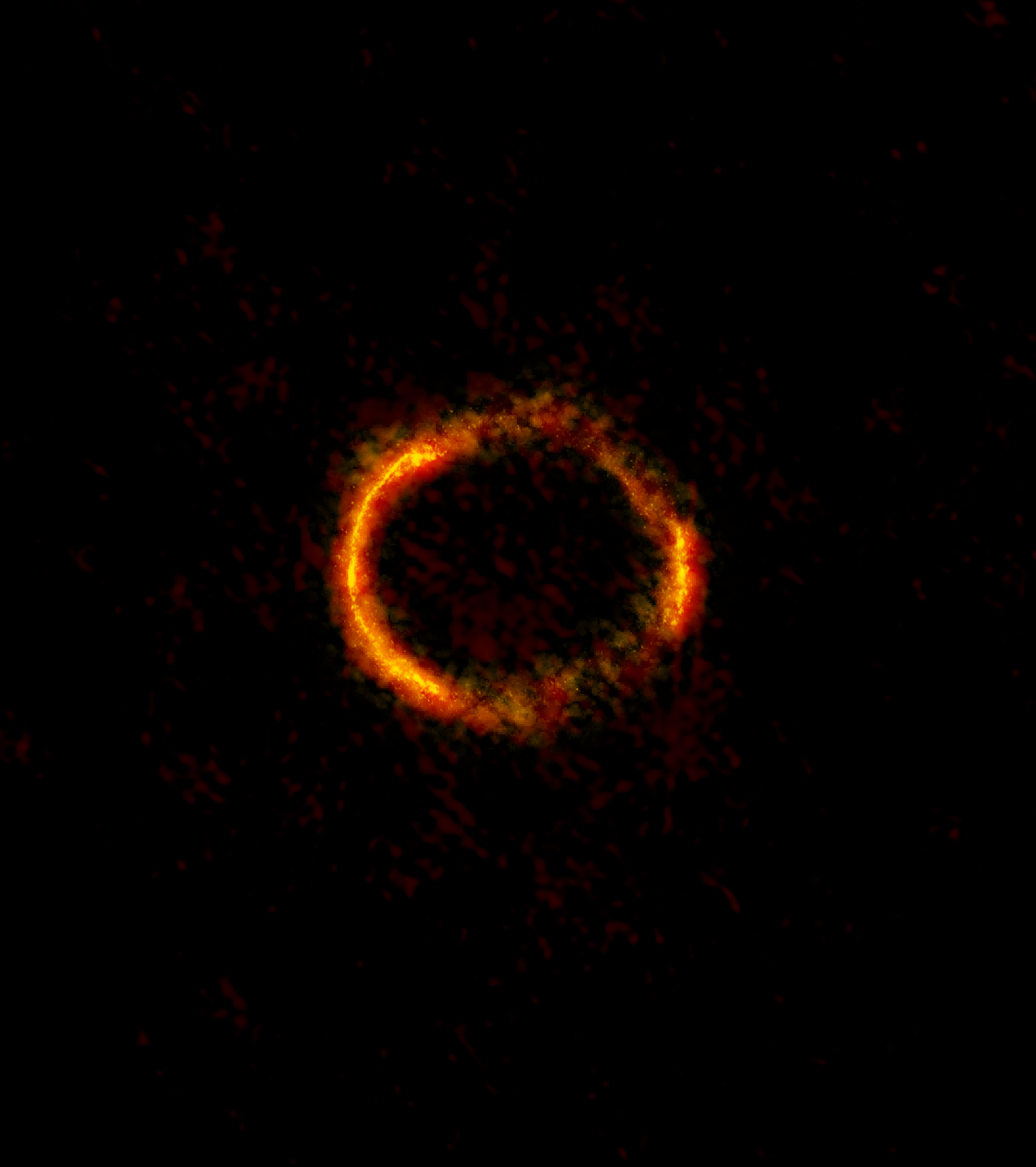 ALMA Sees Einstein Ring