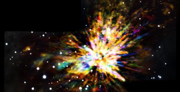 ALMA Captures Explosive Star Birth