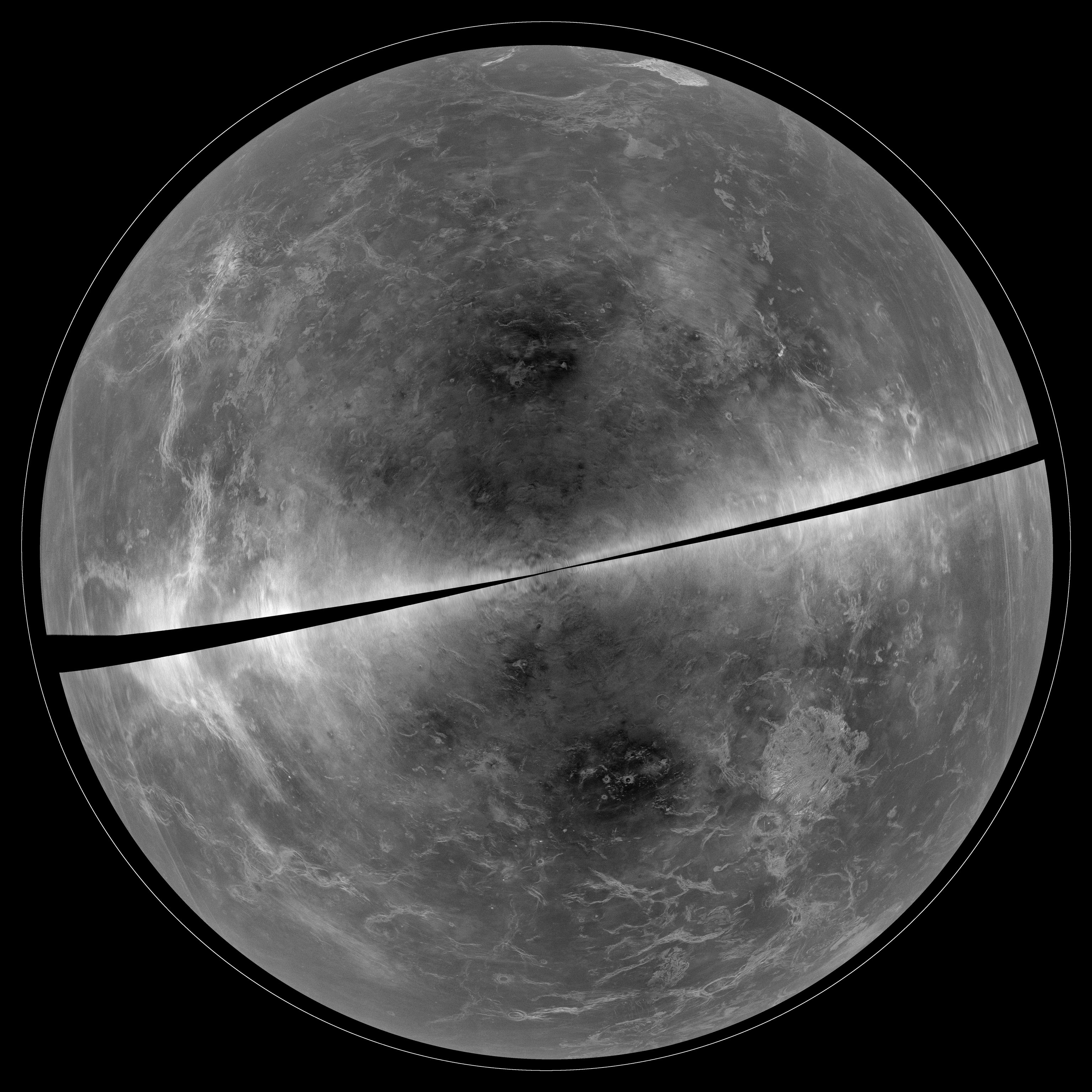 Venus as Seen in Radar with the GBT