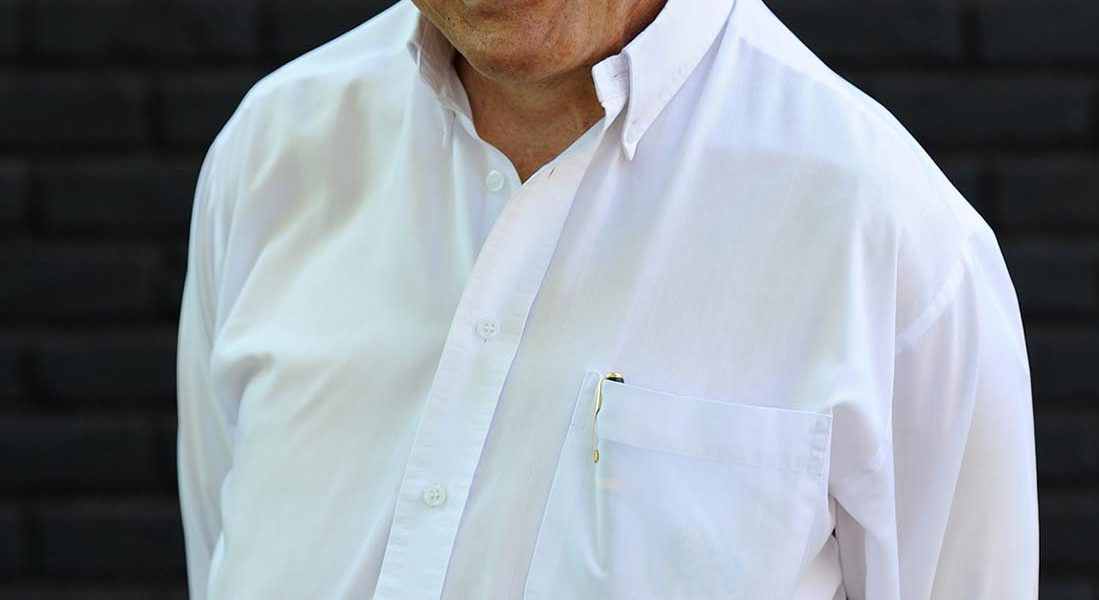 South African radio astronomer Bernie Fanaroff