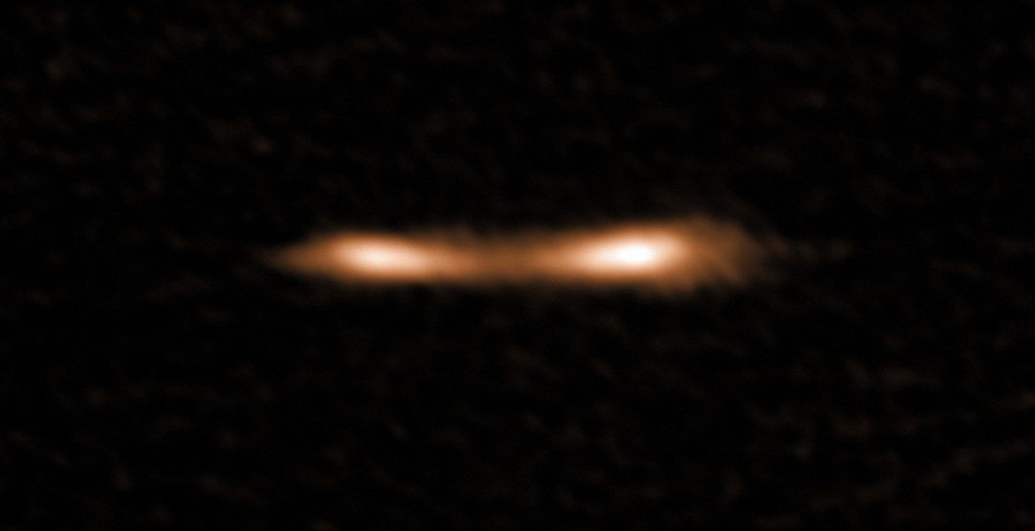 A Cosmic Eyelash Reveals New Information on Star Formation