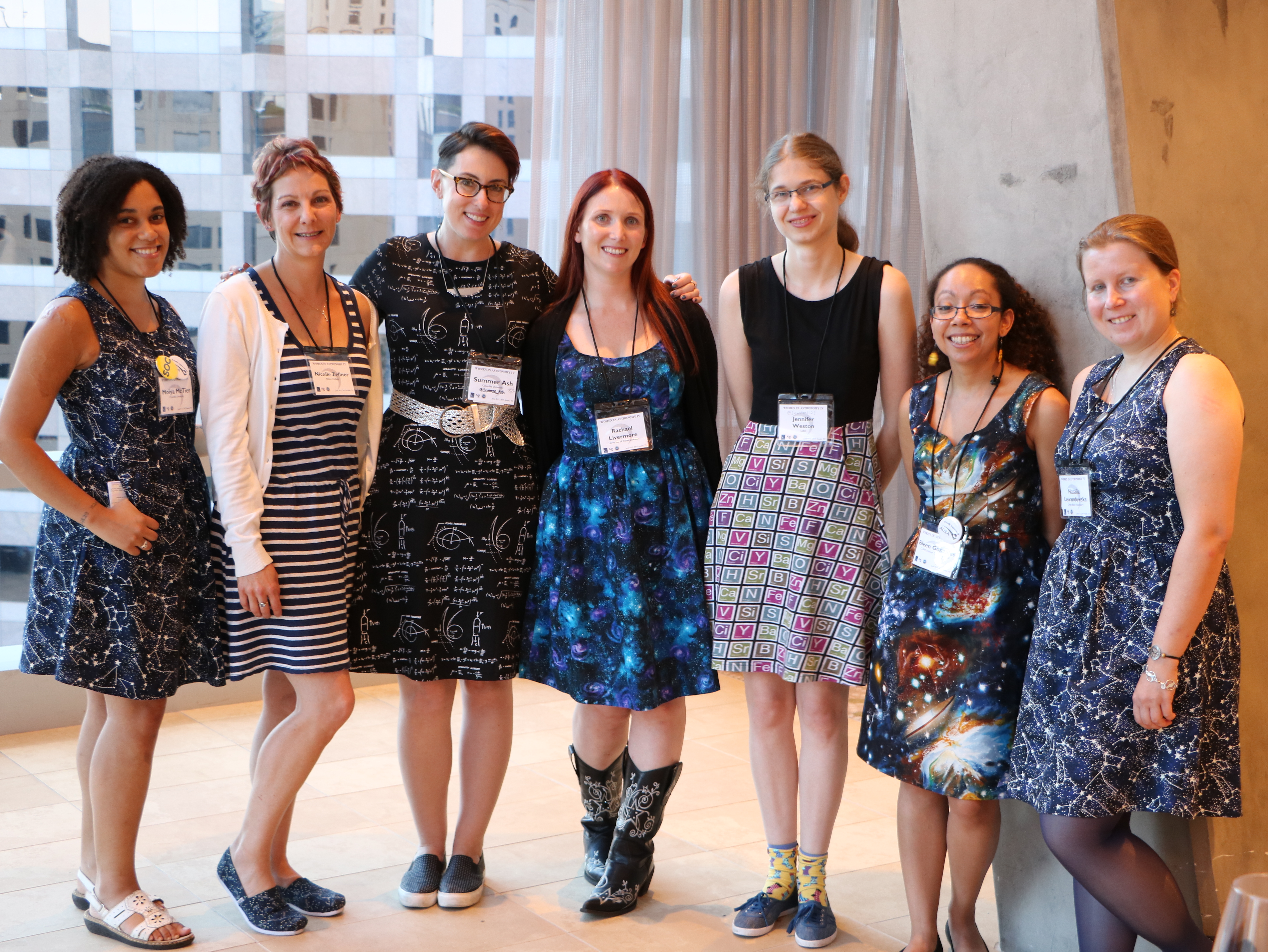 Women in Astronomy participants