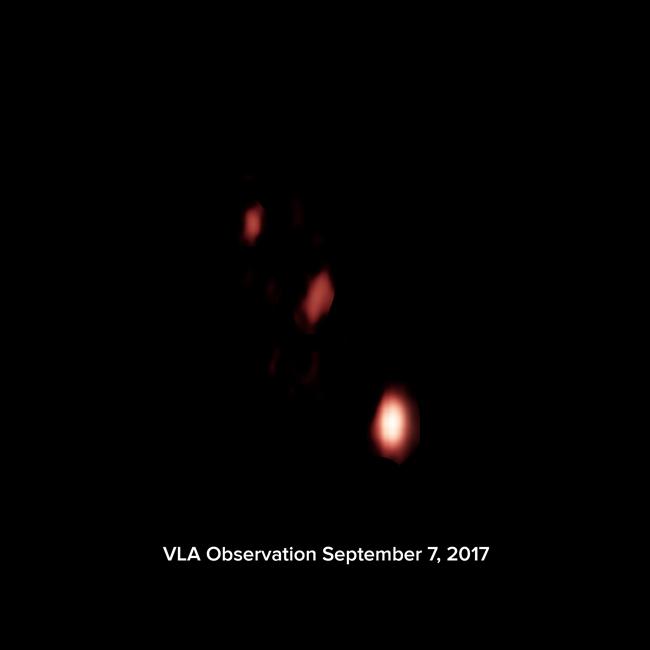 VLA image of GW170817