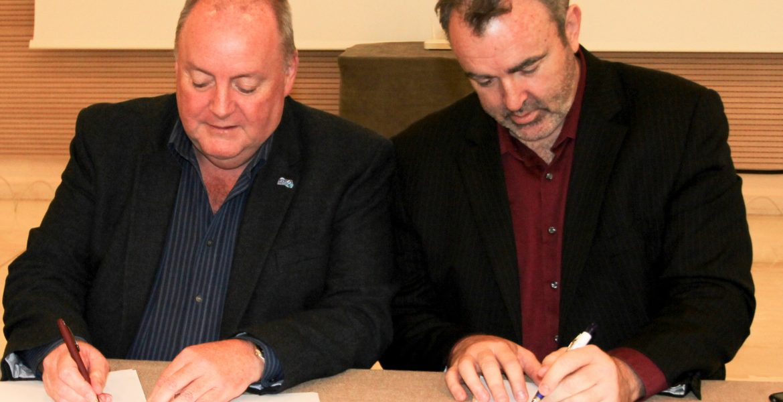 Prof. Philip Diamond and Tony Beasley