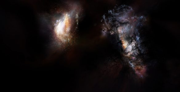 Primordial Galaxies Swimming in Vast Ocean of Dark Matter