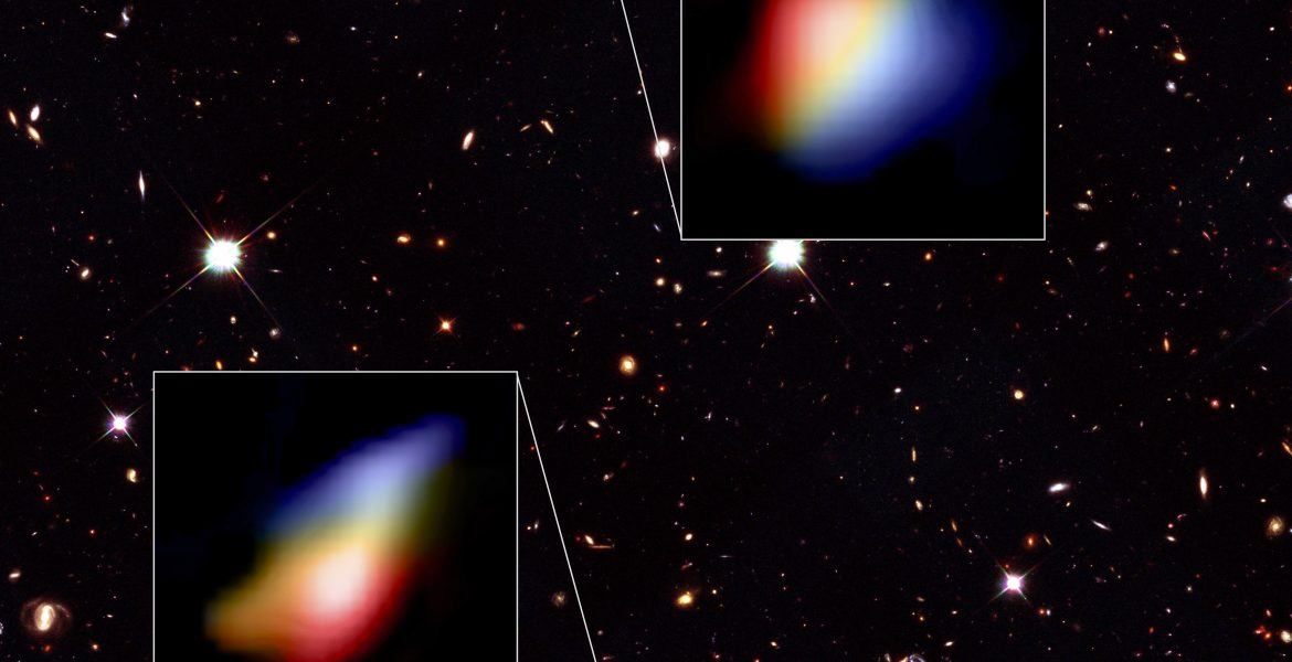 Astronomers Detect Whirlpool Movement in Early Galaxies