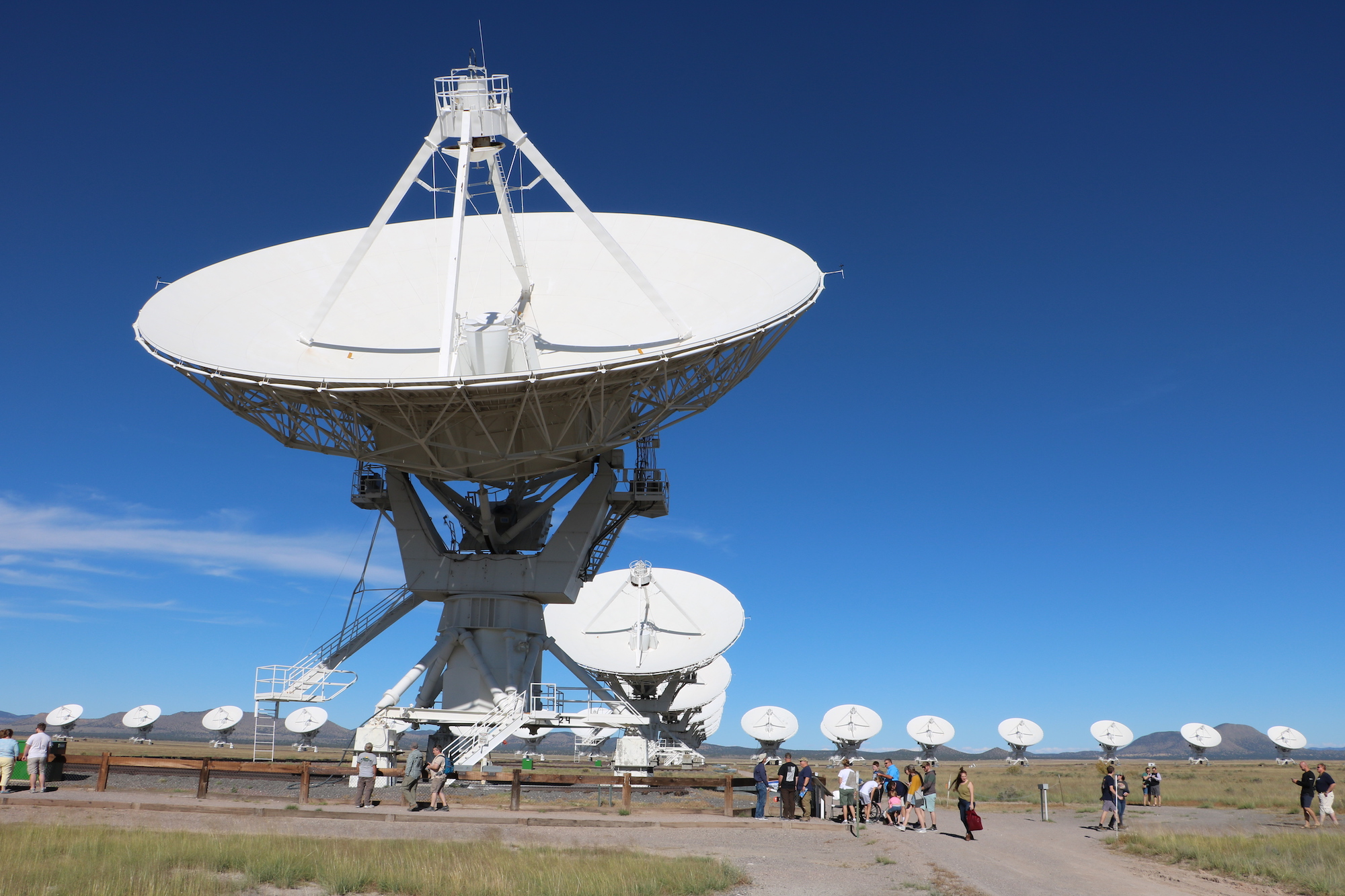 Visiting the Very Large Array - National Radio Astronomy