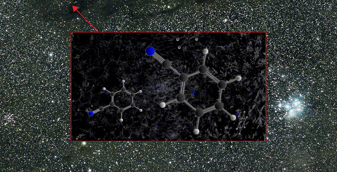 Taurus Molecular Cloud with benzonitrile model