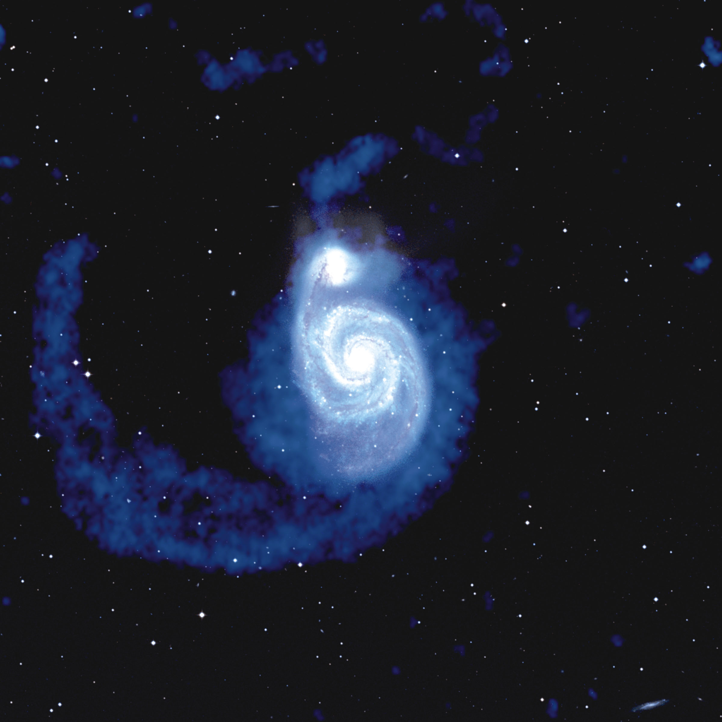 The Collision of M51 – National Radio Astronomy Observatory