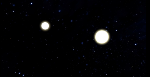 Animation of Neutron Star Merger and Aftermath