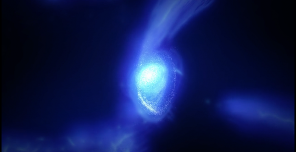 Simulation of Galaxy MACS1149-JD1