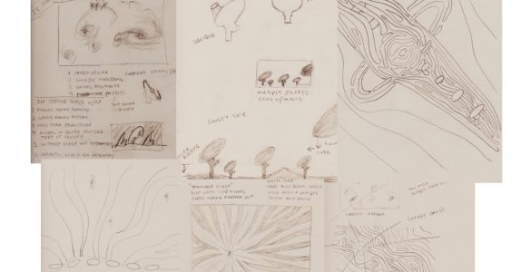 ngVLA Artist Impressions: Time Domain, Cosmology, Physics Sketches