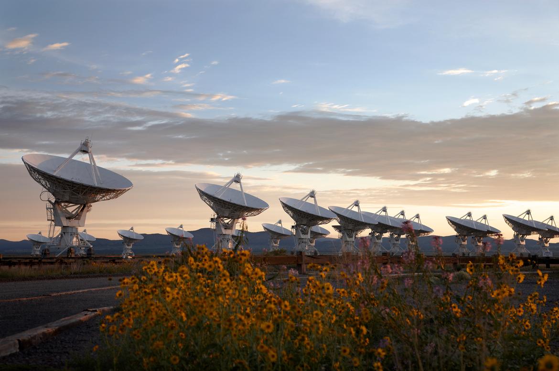 VLA antennas