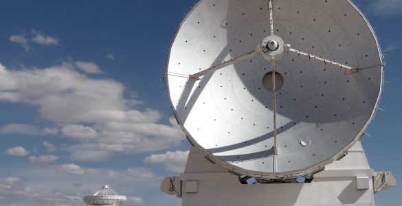 ALMA 7-meter antenna