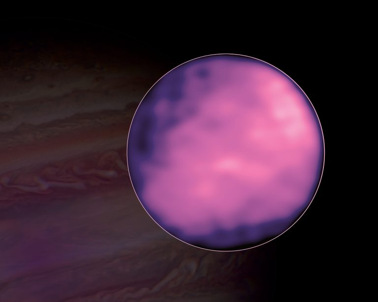 ALMA image of Jupiter's moon Europa