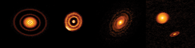 ALMA images of protoplanetary disks