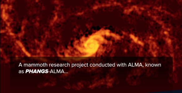 Galaxy from PHANGS-ALMA Survey