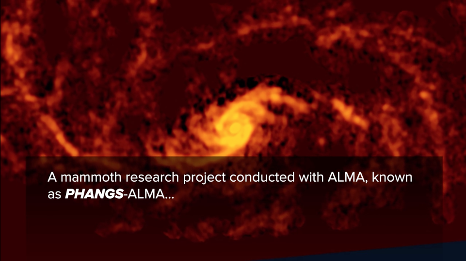 Galaxy from PHANGS-ALMA Survey