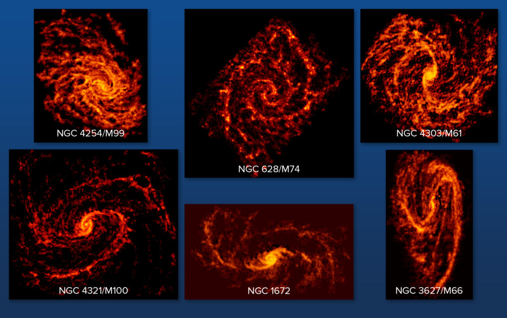 Galaxies in PHANGS-ALMA Survey