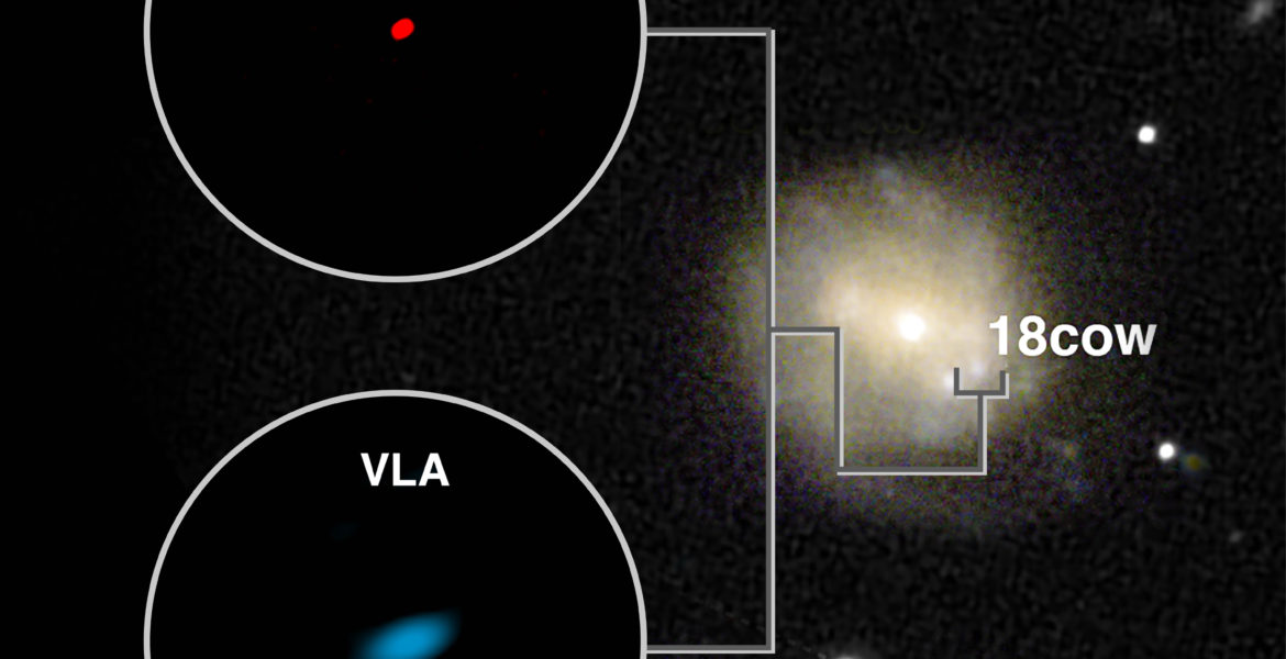 ALMA and VLA Images of AT2018cow