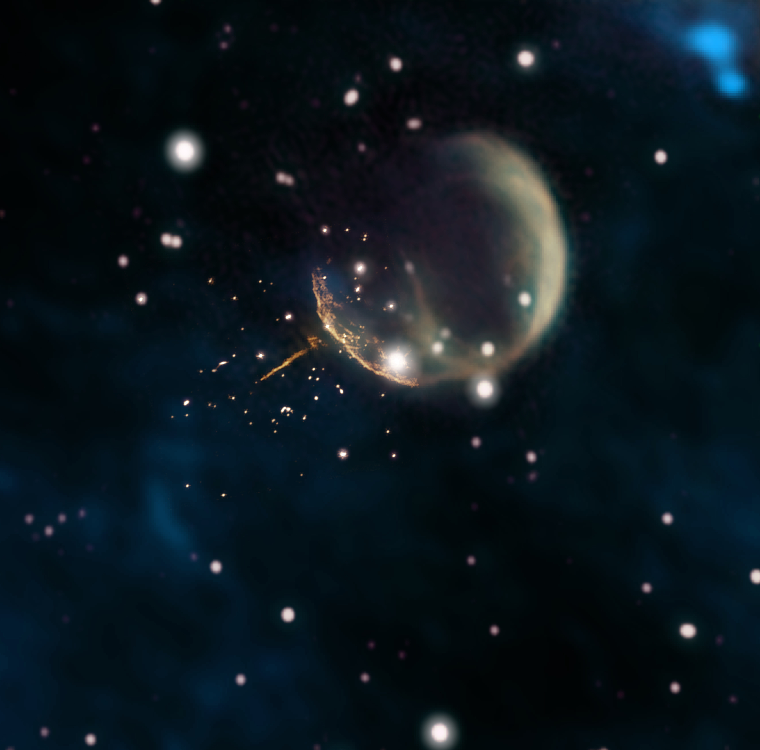 Pulsar escaping SNR