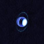 Planetary Rings of Uranus 'Glow' in Cold Light