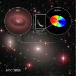 ALMA Dives into Black Hole's 'Sphere of Influence'