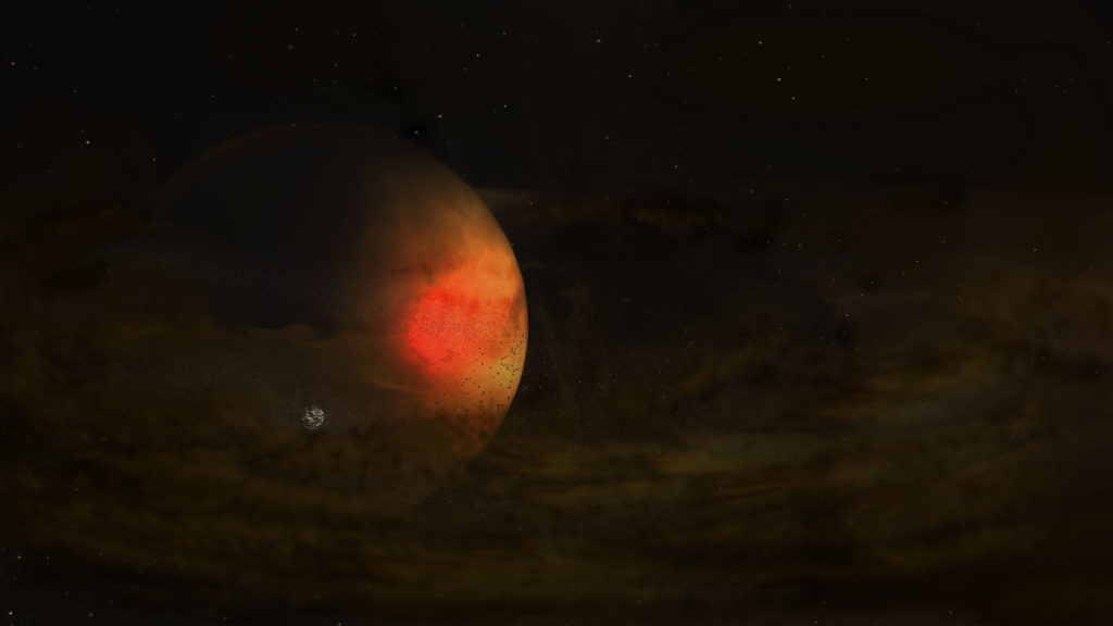 'Moon-forming' Circumplanetary Disk Discovered in Distant Star System - National Radio Astronomy Observatory