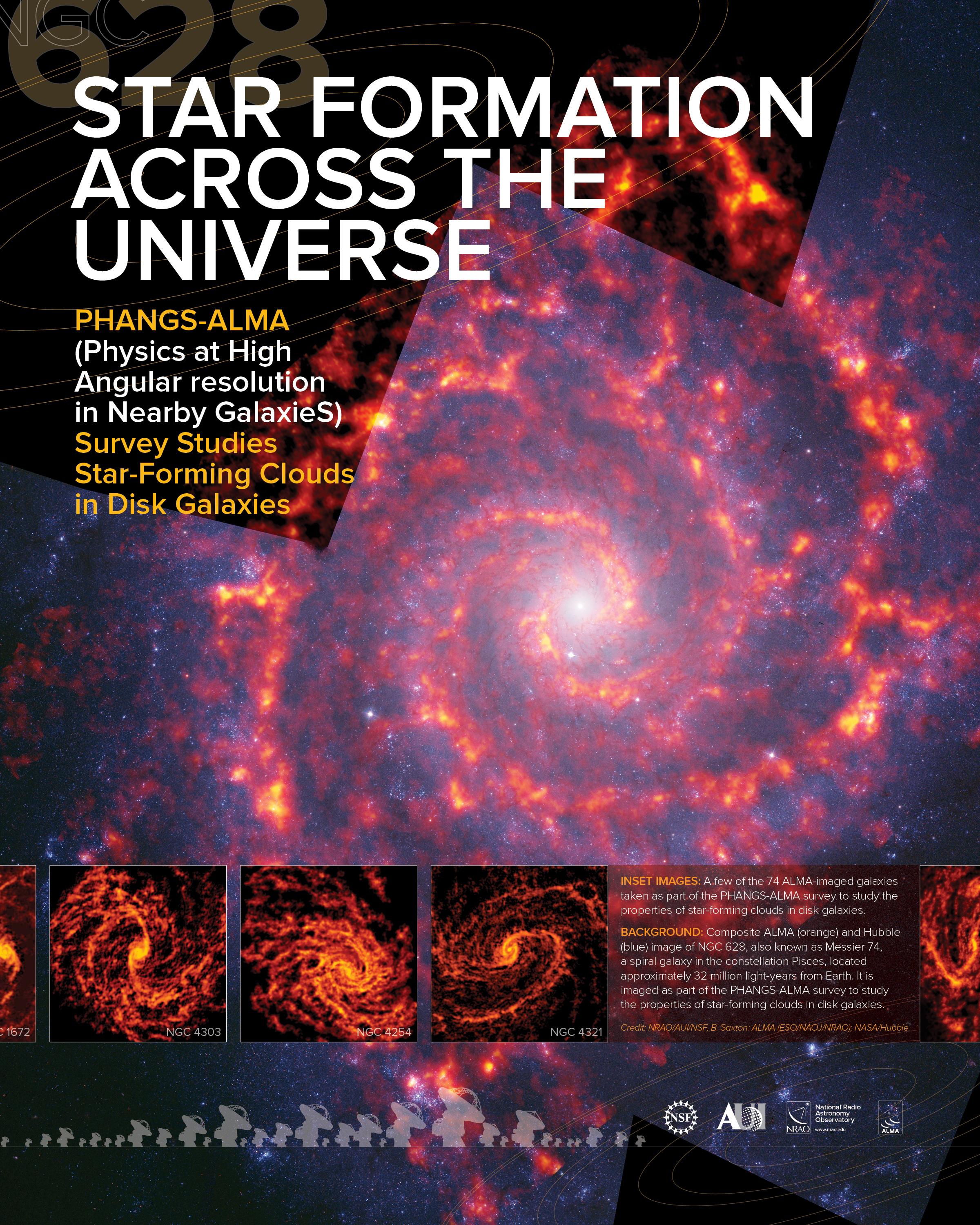 Star Formation Across the Universe Poster