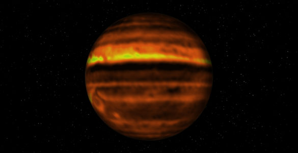 Image Release: ALMA Shows What's Inside Jupiter's Storms
